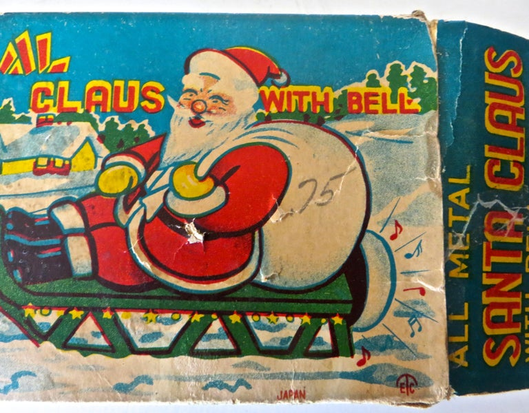 Santa Claus in a Sleigh Wind Up Toy Japan, circa 1953 For Sale 3
