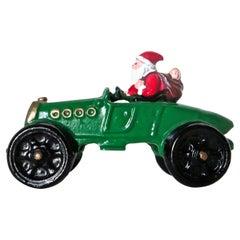"""Santa in A Race Car"" Still Bank American, circa 1987"