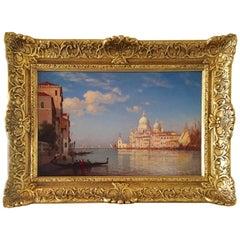 """Santa Maria Della Salute, Venice"" by Amédée Rosier"