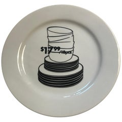 Santa Monica Museum of Art 20th Anniversary Kota Ezawa Plate