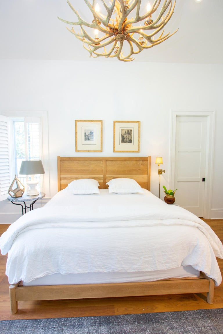 The Santa Rosa bed is inspired by time spent in small coastal towns and their ever present modest clapboard homes with sun bleached siding. It's almost as if the older they get, the more beautiful such dwellings become. The salt and the sun and the