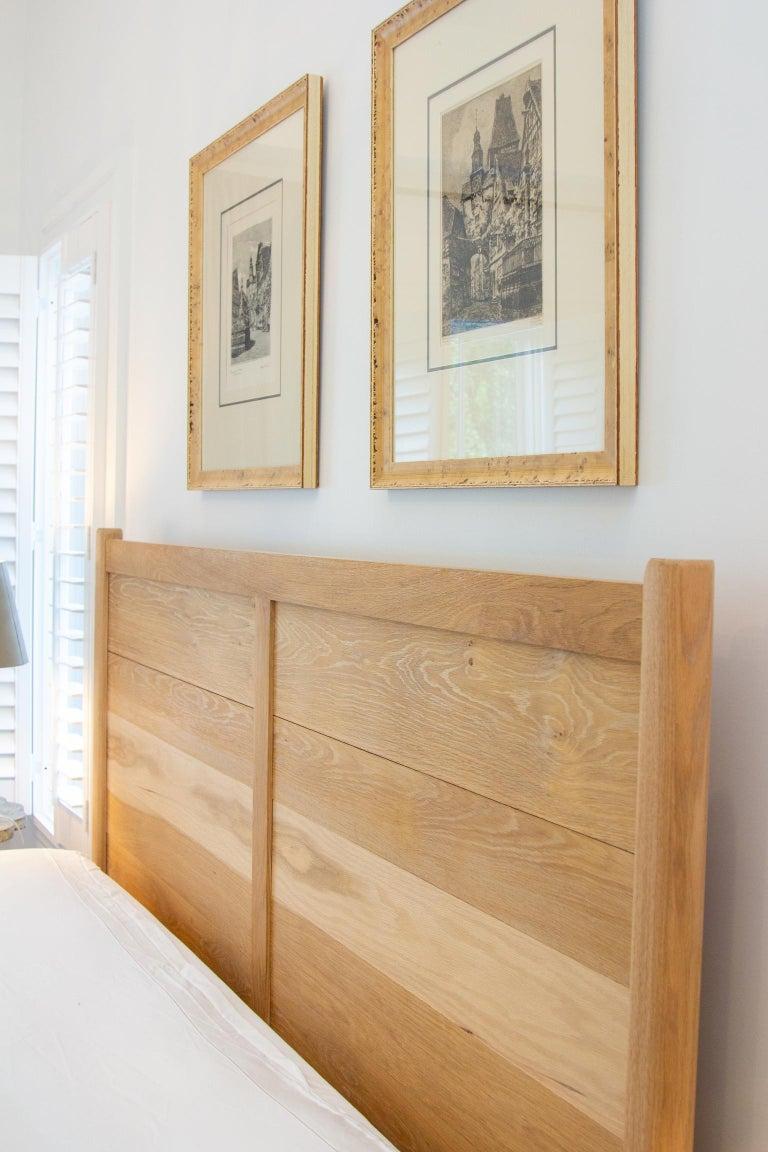 Shaker Santa Rosa White Oak Bed For Sale