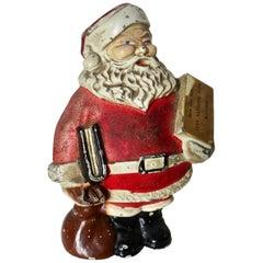 """""""Santa With A Book"""" Still Bank, American, circa 1930s"""