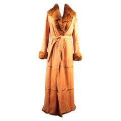 Santacroce Reversible Long Coat Size 44