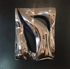 """Illusion"" Stainless Steel Wall Hanging Sculpture"