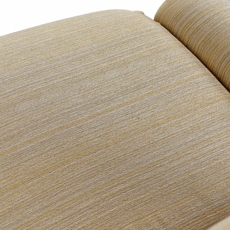 Saporiti Italia Chrome Lounge Chairs and Ottomans by Giovanni Offredi For Sale 3