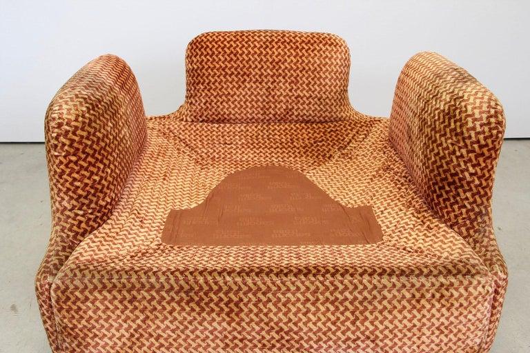 Saporiti Italia Confidential Sofa and Armchair Living Room Set, 1970s For Sale 13