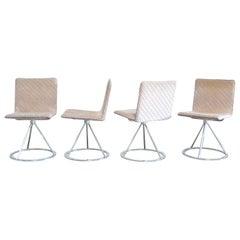 Saporiti Italia & Missoni Set of 4 Dining Chairs Dania by Salvati e Tresoldi