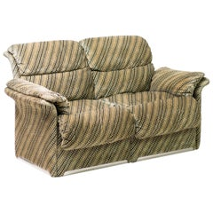 Saporiti Velvet Sofa
