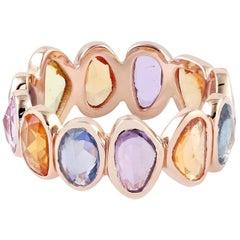 Sapphire 18 Karat Gold Ring