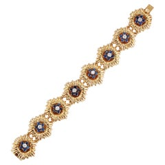 Sapphire and Diamond Bracelet by Van Cleef & Arpels