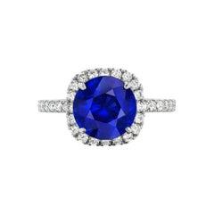 Sapphire and Diamond Ring by RayazTakat