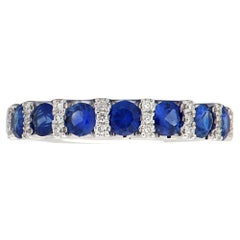 Sapphire and Diamond Row Band