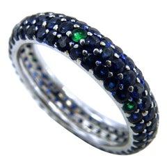 Sapphire Quartz Mother of Pearl Rose Gold Goddesses Bracelet