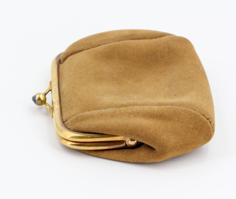 Sapphire, Ruby and Gold Coin Purse For Sale 2