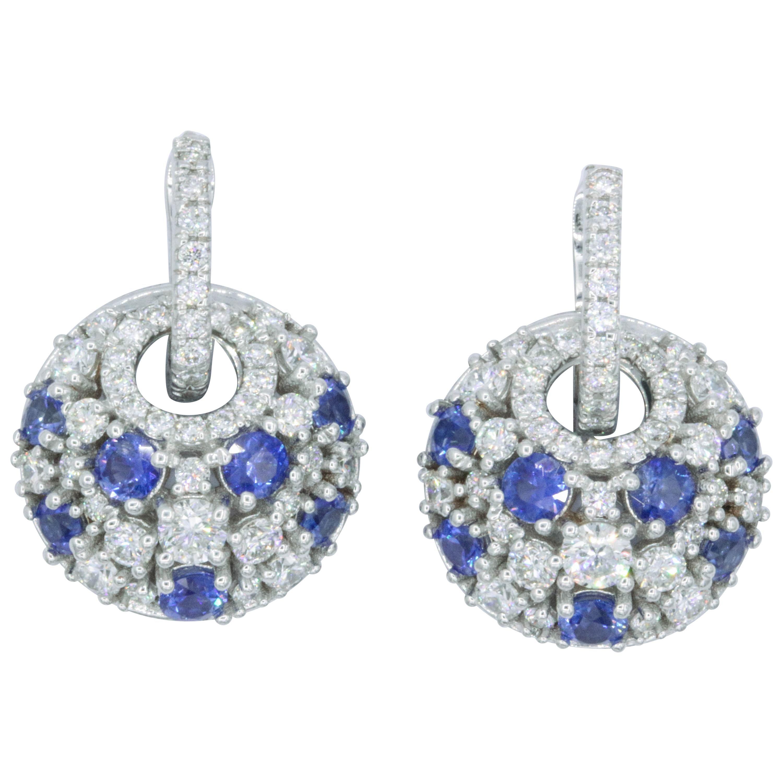 Harbor Diamonds Dangle Earrings