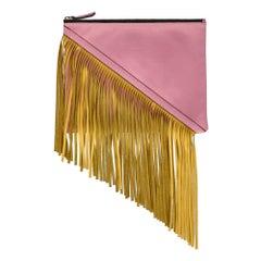 Sara Battaglia Woman Handbag  Pink Leather
