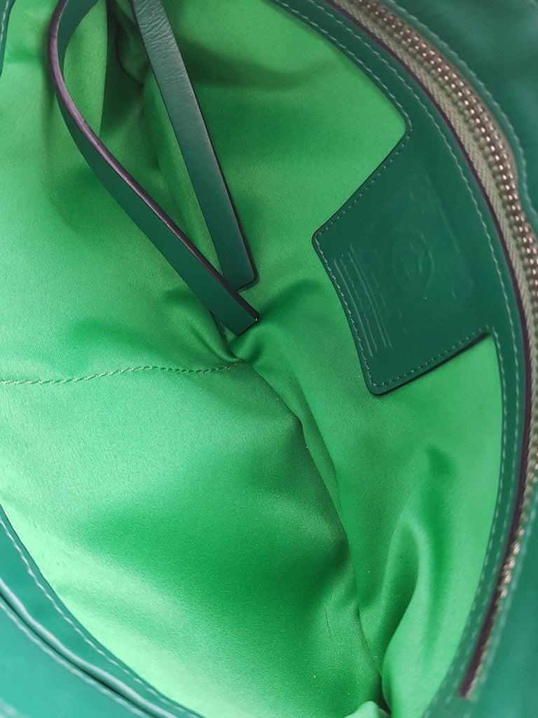 Sara Battaglia Woman Shoulder bag  Green Leather 2