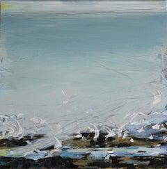 Incoming Tide: Oil Painting by Sara Dudman RWA