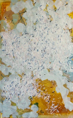 Swarm 1: Painting of a Swarm of White Butterflies by Royal West Academician