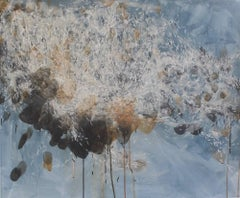 Swarm: Abstract Painting of Butterflies by Sara Dudman RWA