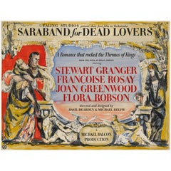 'Saraband for Dead Lovers' Original British Movie Poster