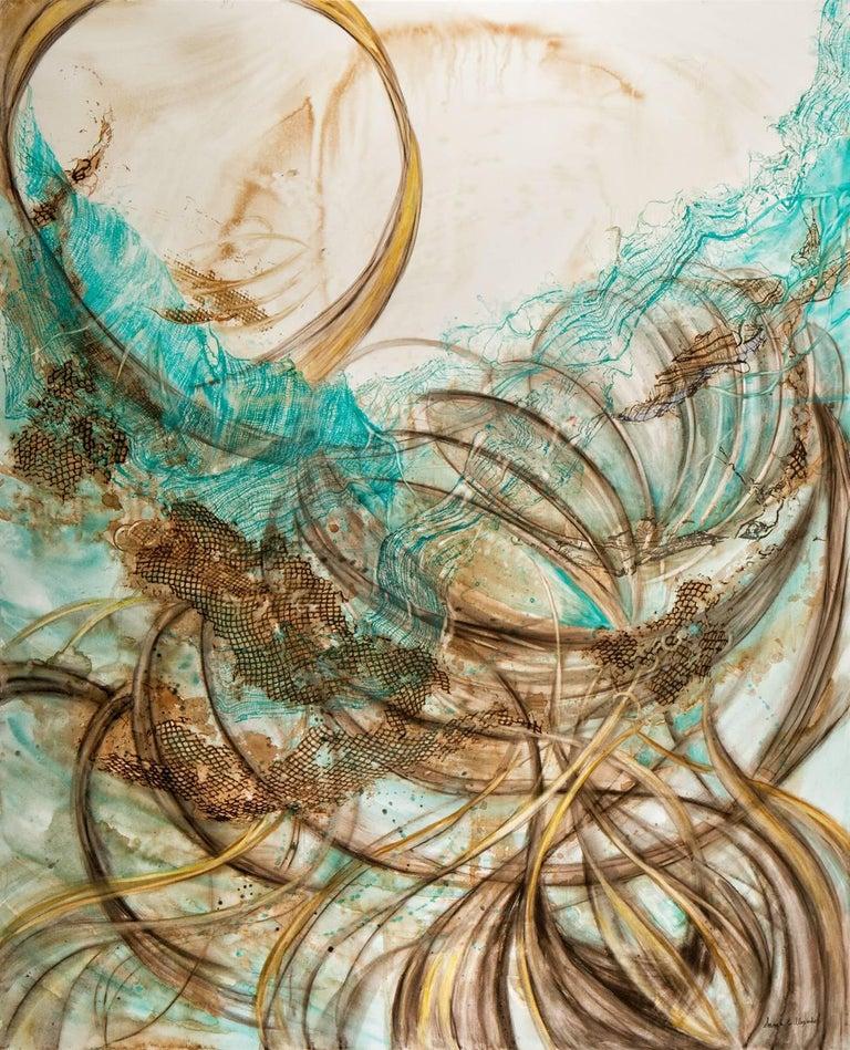 In Flux - Mixed Media Art by Sarah Alexander