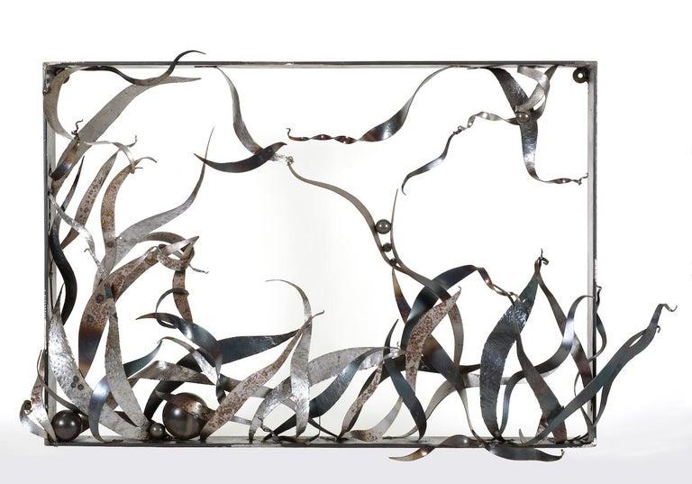 """Please Keep Off the Grass"", Sarah Alexander, contemporary, wall sculpture - Sculpture by Sarah Alexander"
