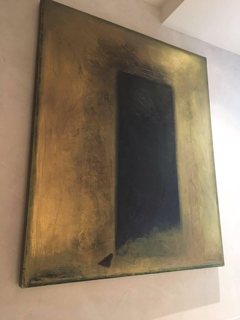 Black Gold Series #1 - Painting by Sarah Bachrodt