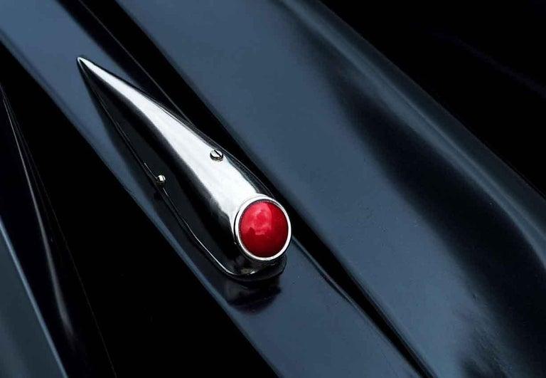1930 Hotchkiss AM80 2995cc - contemporary black car lambda print For Sale 2