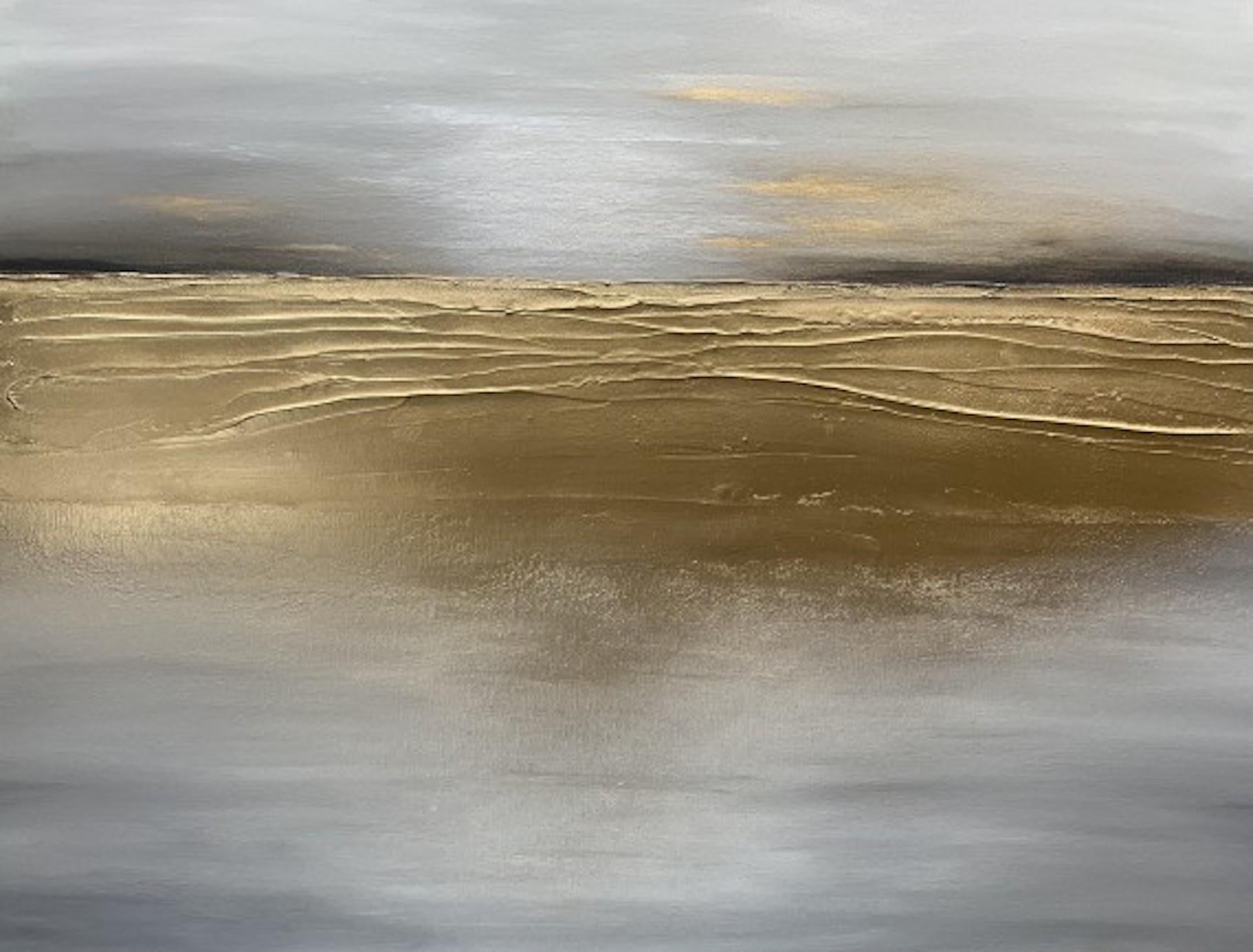 Sarah Berger, Brighter Days Are On The Way, Original Abstract Landscape Art