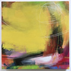 Sarah Foat, Another Love, Abstract Art, Affordable Art, Colourful Art