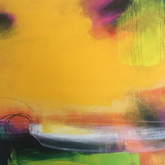 Sarah Foat, I'm in Your Soul, Contemporary Abstract Landscape Painting