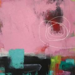 Sarah Foat, Not Forgetting Me, Original Painting, Graffiti Inspired Art