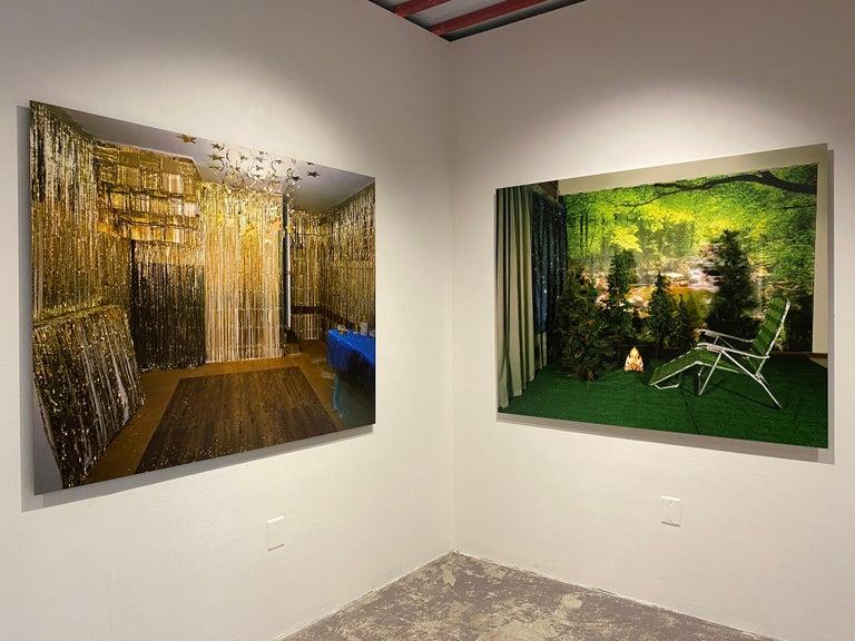 Private Nature - Twilight Living Series Chromogenic Print, Green, Tree Room For Sale 1