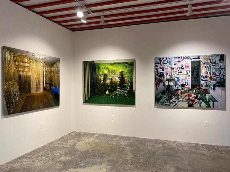 Private Nature - Twilight Living Series Chromogenic Print, Green, Tree Room For Sale 3