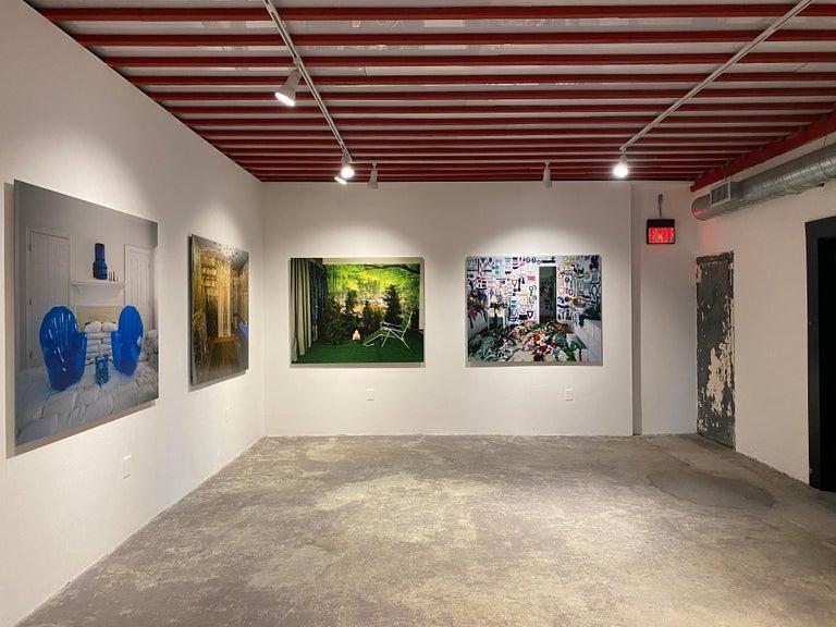 Private Nature - Twilight Living Series Chromogenic Print, Green, Tree Room For Sale 6