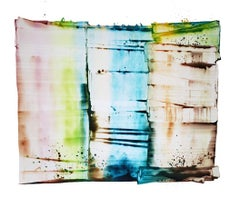 "Sarah Irvin ""Classification"" Abstract Ink Painting on Paper"
