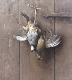 Hanging Pheasant Hen and Chukkar