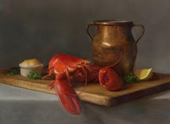 Lobster and Copper Pot