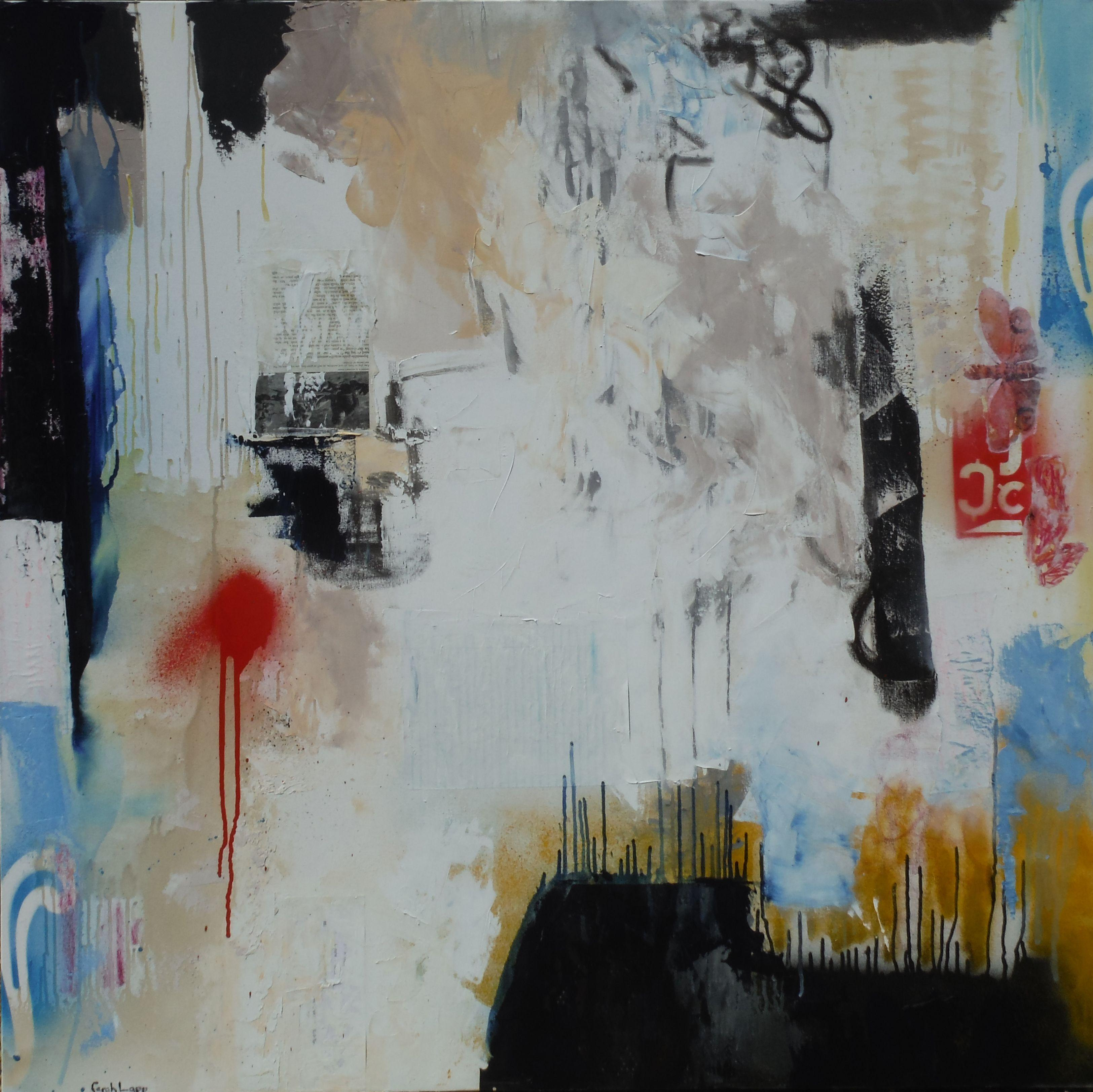 All This Could Be Yours, Mixed Media on Canvas