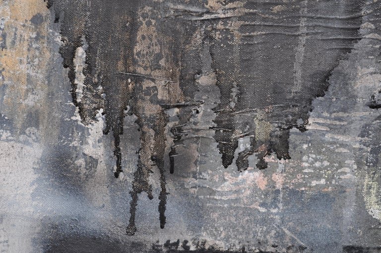 Ghosts, Mixed Media on Canvas - Abstract Mixed Media Art by Sarah Lapp