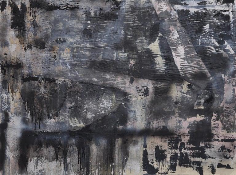 Ghosts, Mixed Media on Canvas - Mixed Media Art by Sarah Lapp