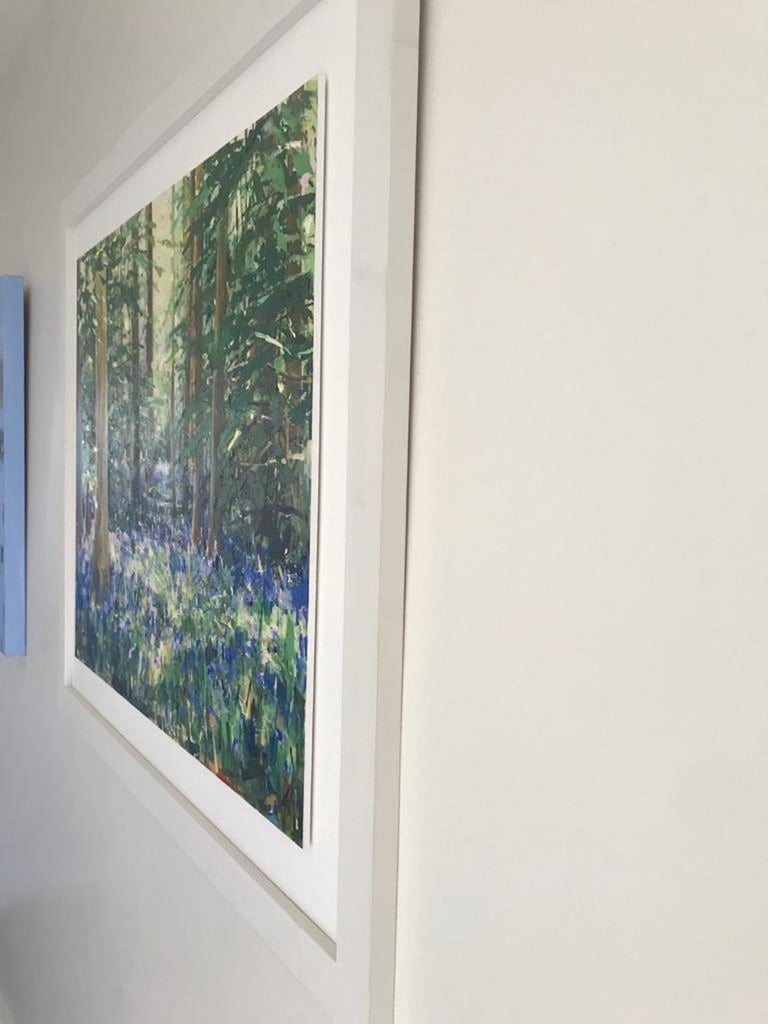 Sarah Ollerenshaw, Finding You, Original Contemporary Landscape Painting For Sale 2