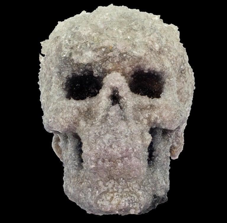 Crystal Skull Sculpture, Sarah Raskey For Sale 6