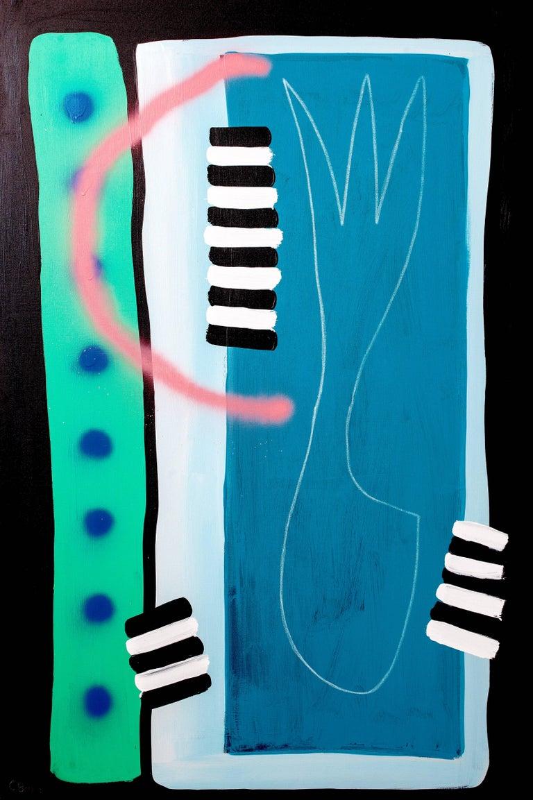 Sarah Svetlana Abstract Painting - I Left My Heart in Pear Blossom