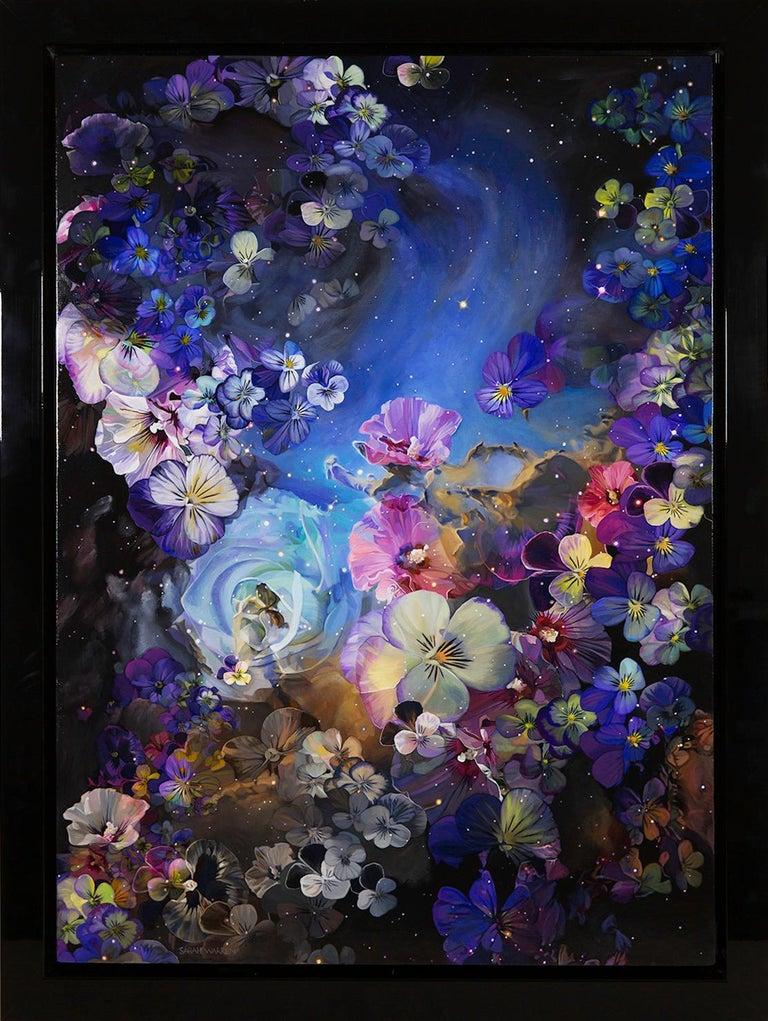 Sarah Warren Figurative Painting - Flower Nebula