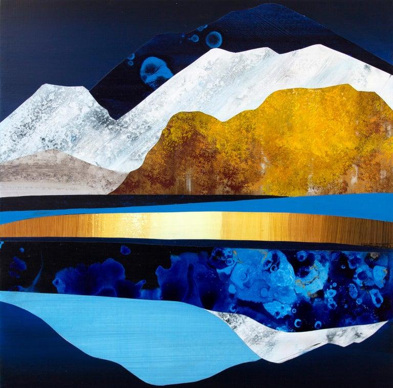 Sarah Winkler Landscape Painting - Winter Moon