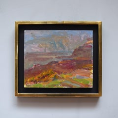 Dorset Seascape, Easter by Sargy Mann - oil on board, pre 2005