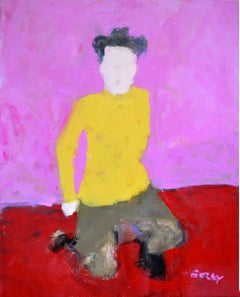 Frances Remembered by Sargy Mann - oil on canvas, Post 2005